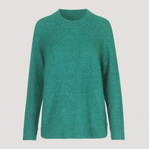 SAMSOE & SAMSOE NOR O-NECK LONG KNIT