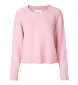 samsoe-samsoe-Pink-Pink-Lady-Mel-Nor-O-Neck-Knit-Sweater