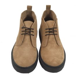 FRED PERRY HAWLEY MID SUEDE SHOE