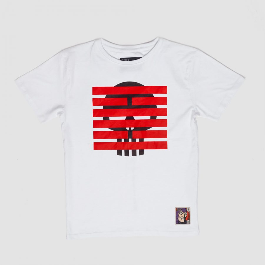 BBXPH-TSM00-SB Brick Skull T-shirt