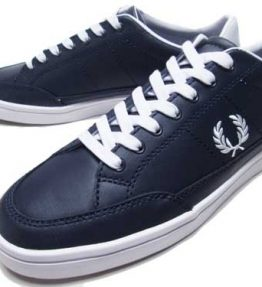 FRED PERRY DEUCE LEATHER SHOE