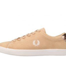 FRED PERRY LOTTIE MICROFIBRE SHOE
