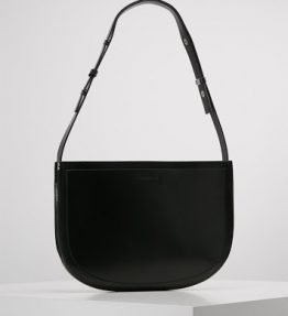SAMSOE & SAMSOE LUMA LEATHER HANDBAG