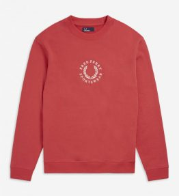FRED PERRY BRANDED SWEATSHIRT
