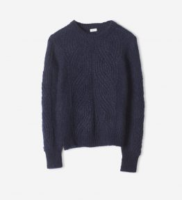 FILIPPA K SOFT MOHAIR R-N KNIT