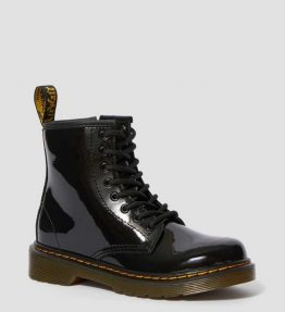 DR. MARTENS 1460 JUNIOR DELANEY PATENT SHOE