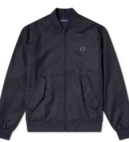 FRED PERRY WOOL MIX BOMBER JACKET