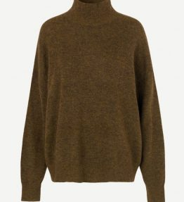 SAMSOE & SAMSOE JACI TURTLE-NECK KNIT